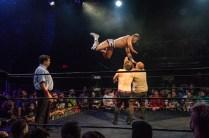 First Wrestling Wrestlepalooza Iron Rebel Renny D vs Brandon Gore vs Scott Story vs Rylie Jackson vs Deputy Rob Justice vs Atomic Super Thunderfrog 01260
