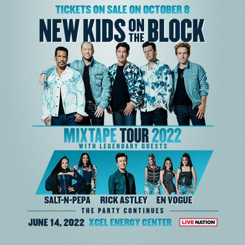 New Kids on the Block – Concert Announcement!! June 14th 2022 Xcel Energy Center