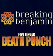 Five Finger Death Punch & Breaking Benjamin w/ Bad Wolves @ Intrust Bank Arena   Wichita   Kansas   United States