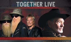 ZZ Top with Willie Nelson feat. George Thorogood & The Destroyers @ Azura Amphitheater