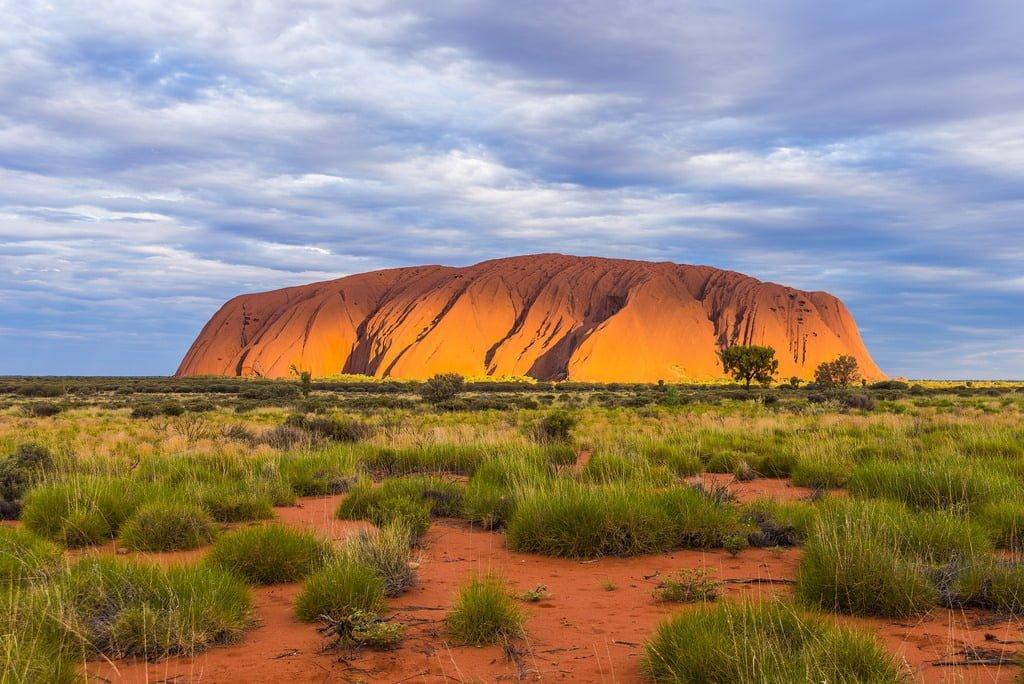 Ayers Rock Uluru Avustralya