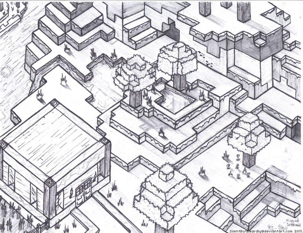 Fun Minecraft Coloring Pages For Children 101 Coloring