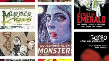 Best Mystery Graphic Novels