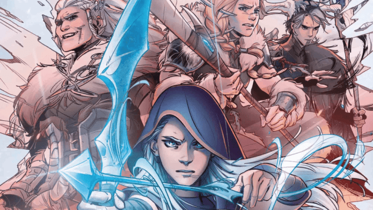 Ashe: Warmother Riot/Marvel Comic