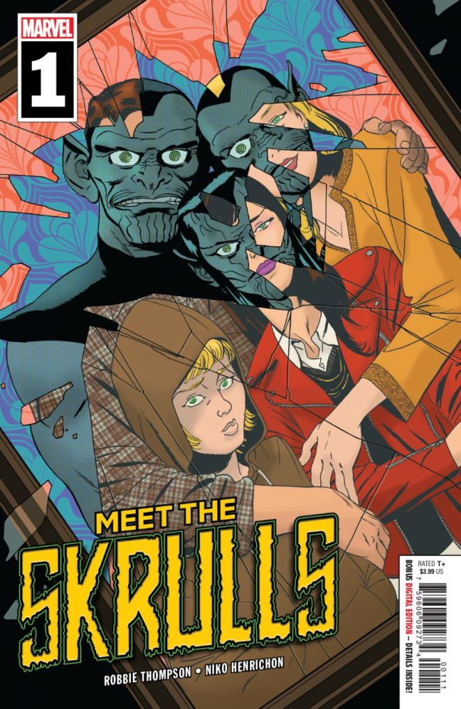 Meet The Skrulls Cover Marvel Comics