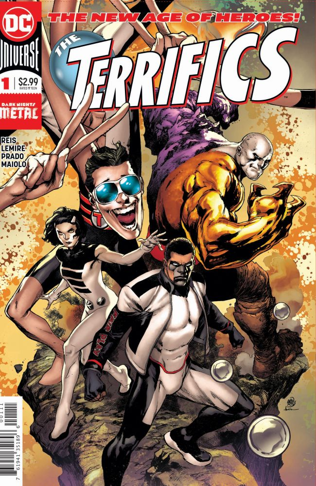 The Terrifics #1 Cover DC Universe