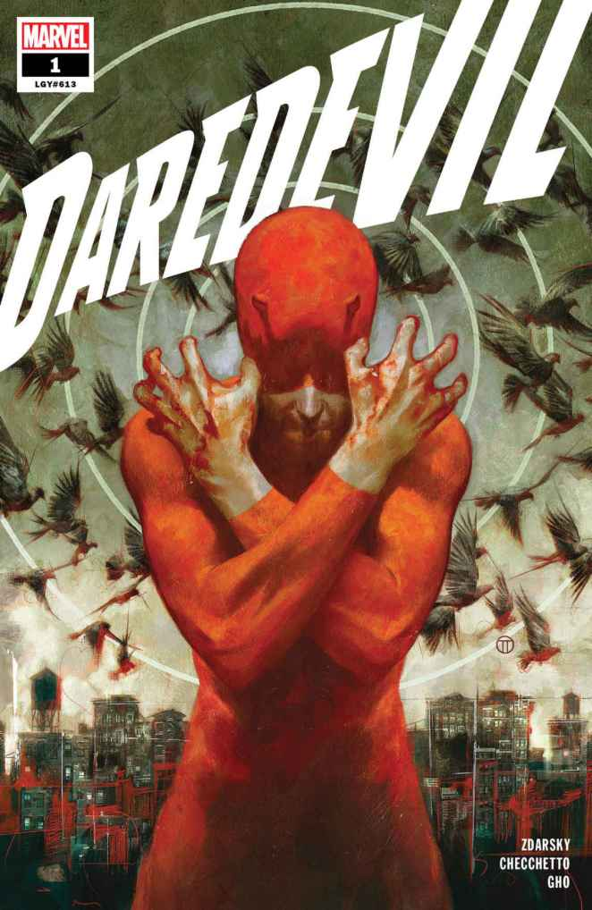 Daredevil #1 Cover Marvel Comics