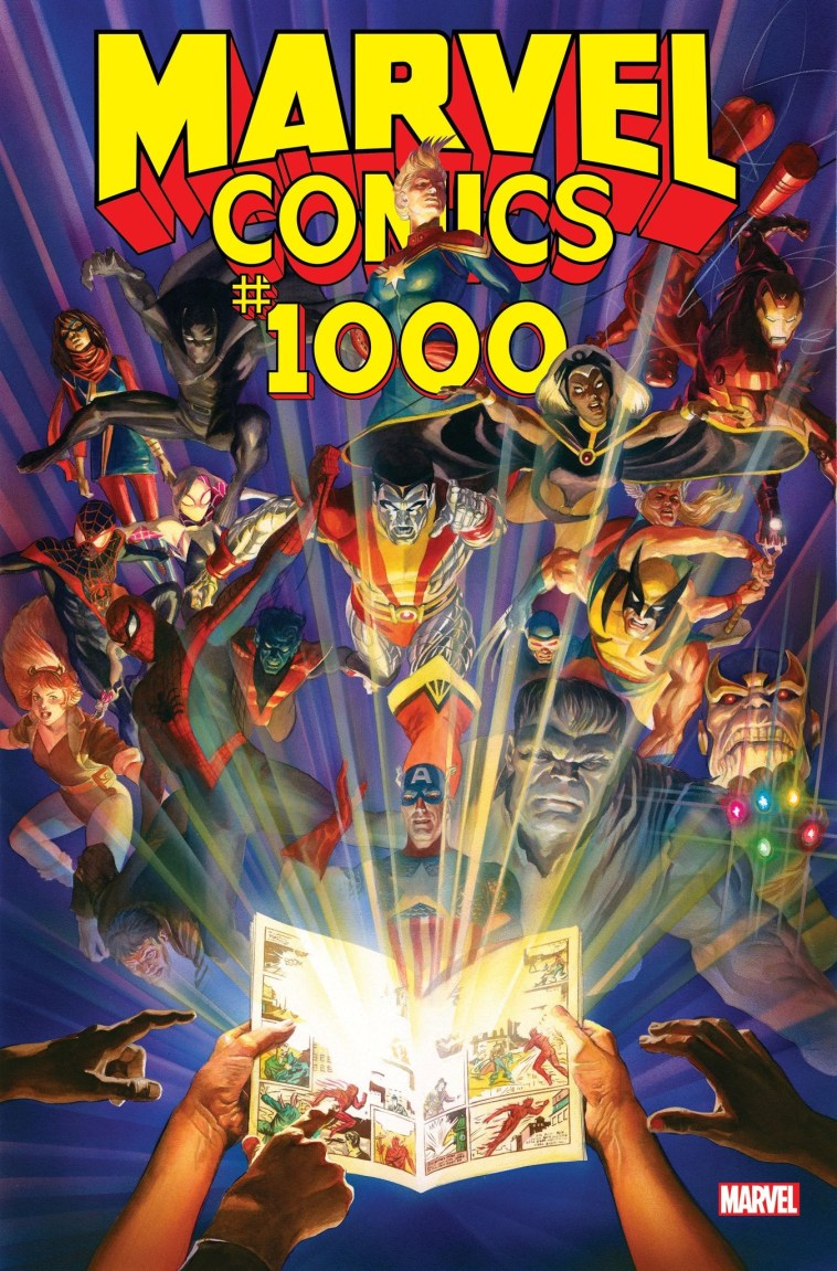 Marvel Comics #1000 main cover