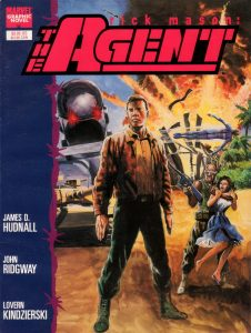 Marvel Graphic Novel #57 - Rick Mason the Agent