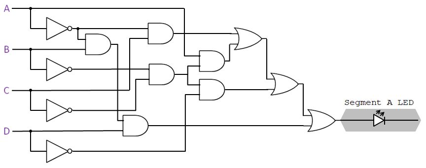 BCD To 7-Segment Display