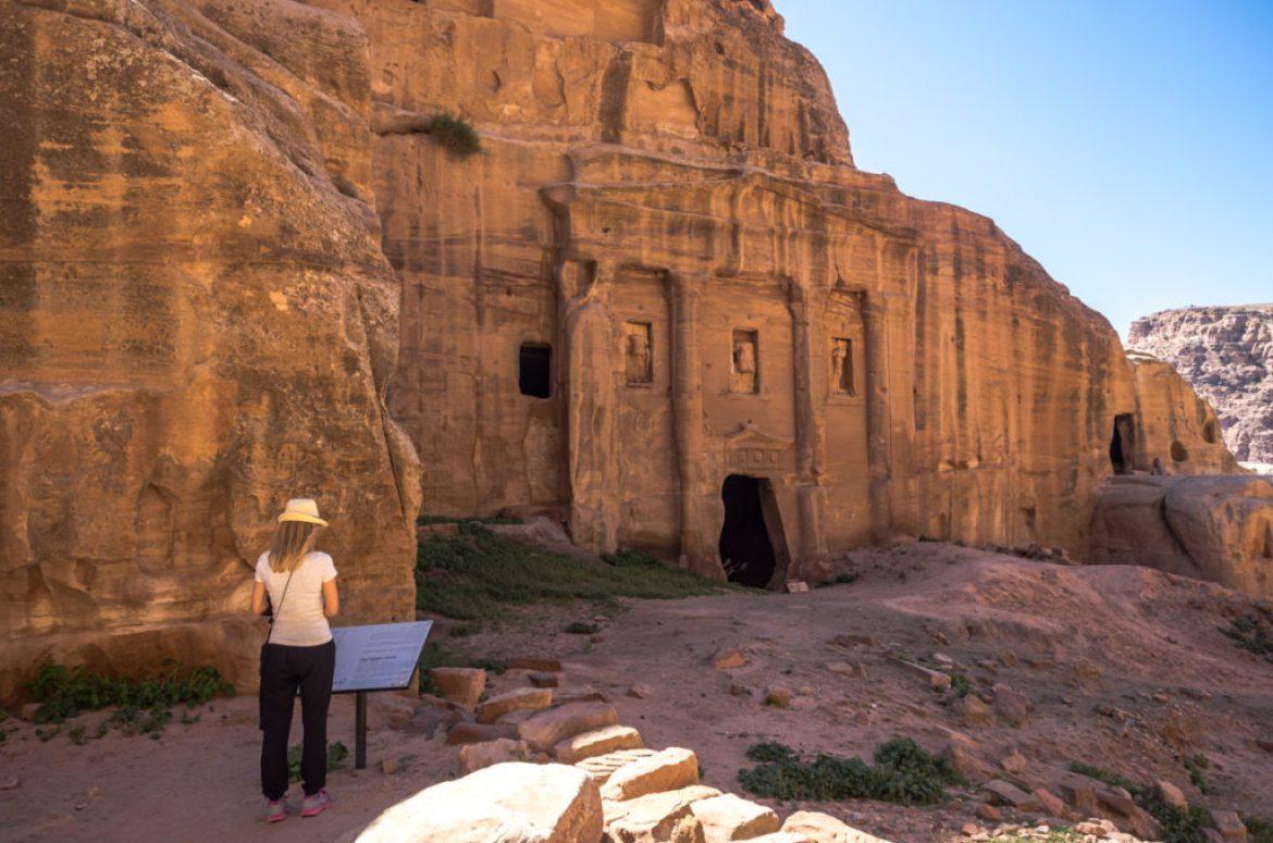 Petra w Jordanii