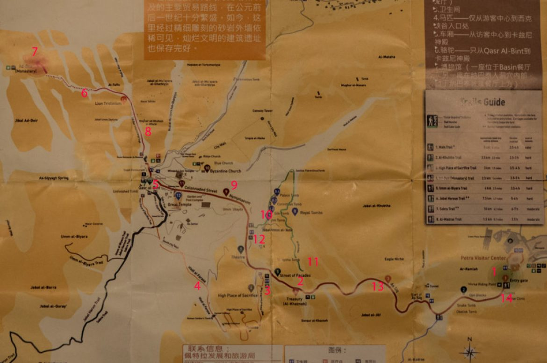 mapa Petry