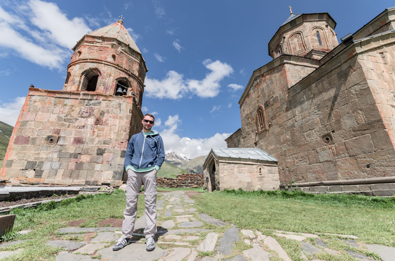Cminda Sameba- najpiękniejszy klasztor w Gruzji