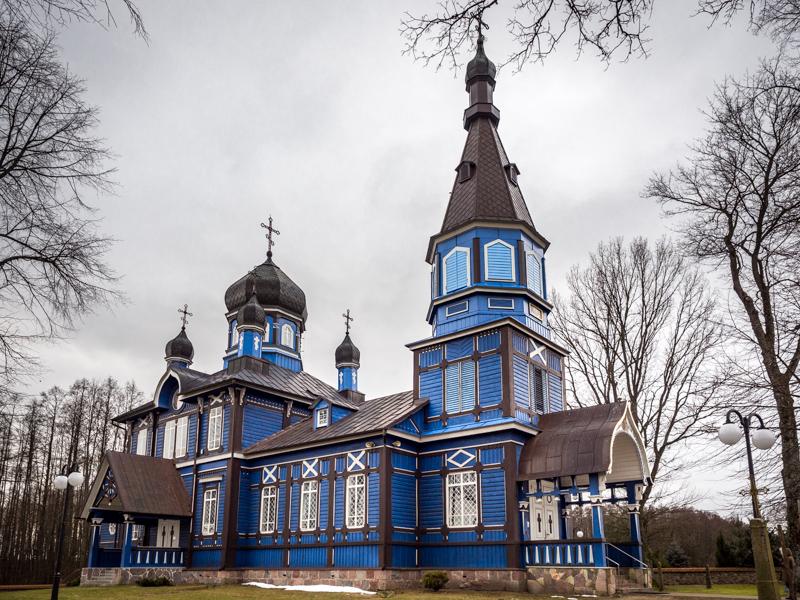 Najpiękniejsze cerkwie na Podlasiu
