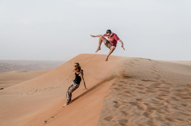 Pustynia Oman