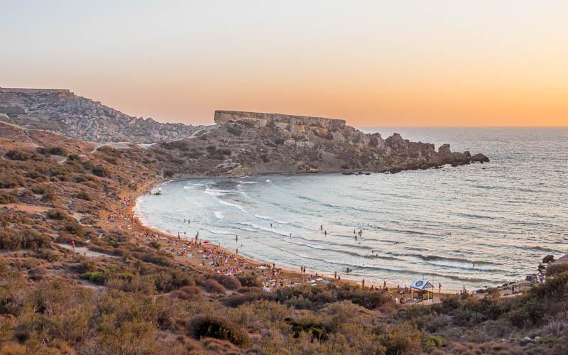 plaże Malta