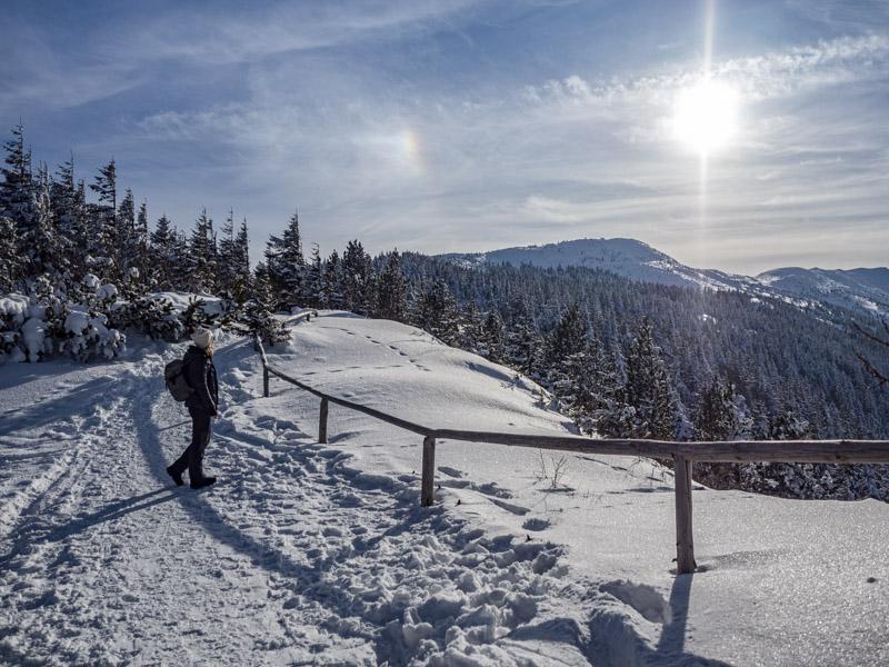 Góry zimą - Babia Góra
