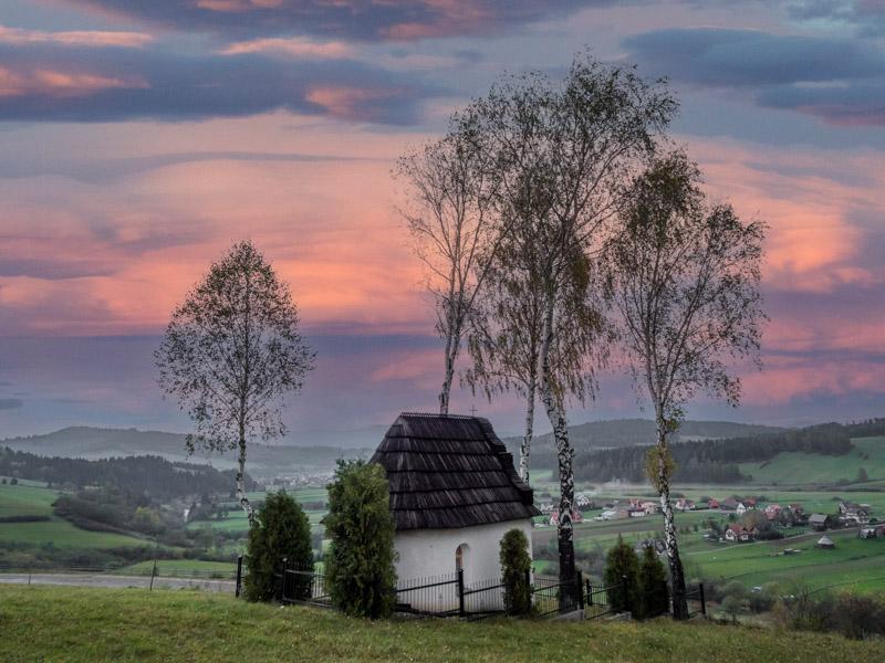 Kapliczka w Kacwinie