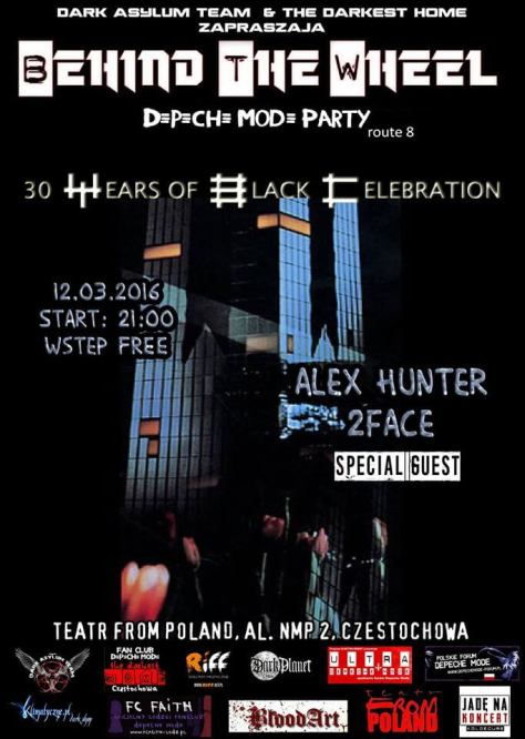 BEHIND THE WHEEL Depeche Mode Party route 8  30 years of BLACK CELEBRATION