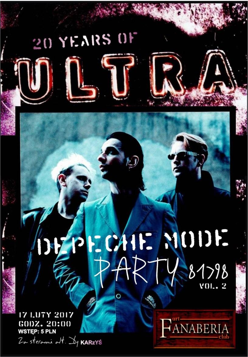 depeche MODE Ultra Party 81>98 vol.2