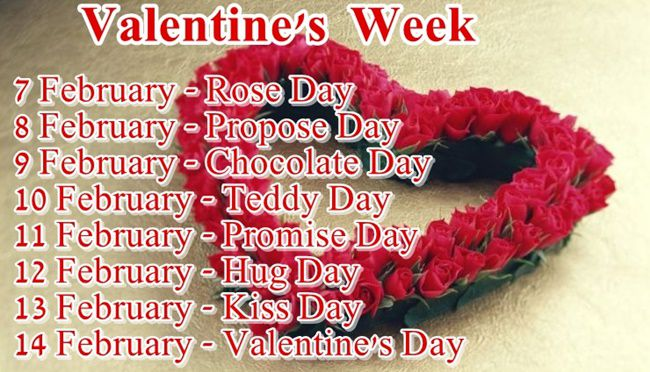 Everything You Need To Know About Valentines Week Days And Dates   Valentine  Week