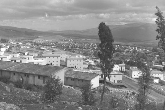 VIEW OF KIRYAT SHMONA IN UPPER GALILEE.