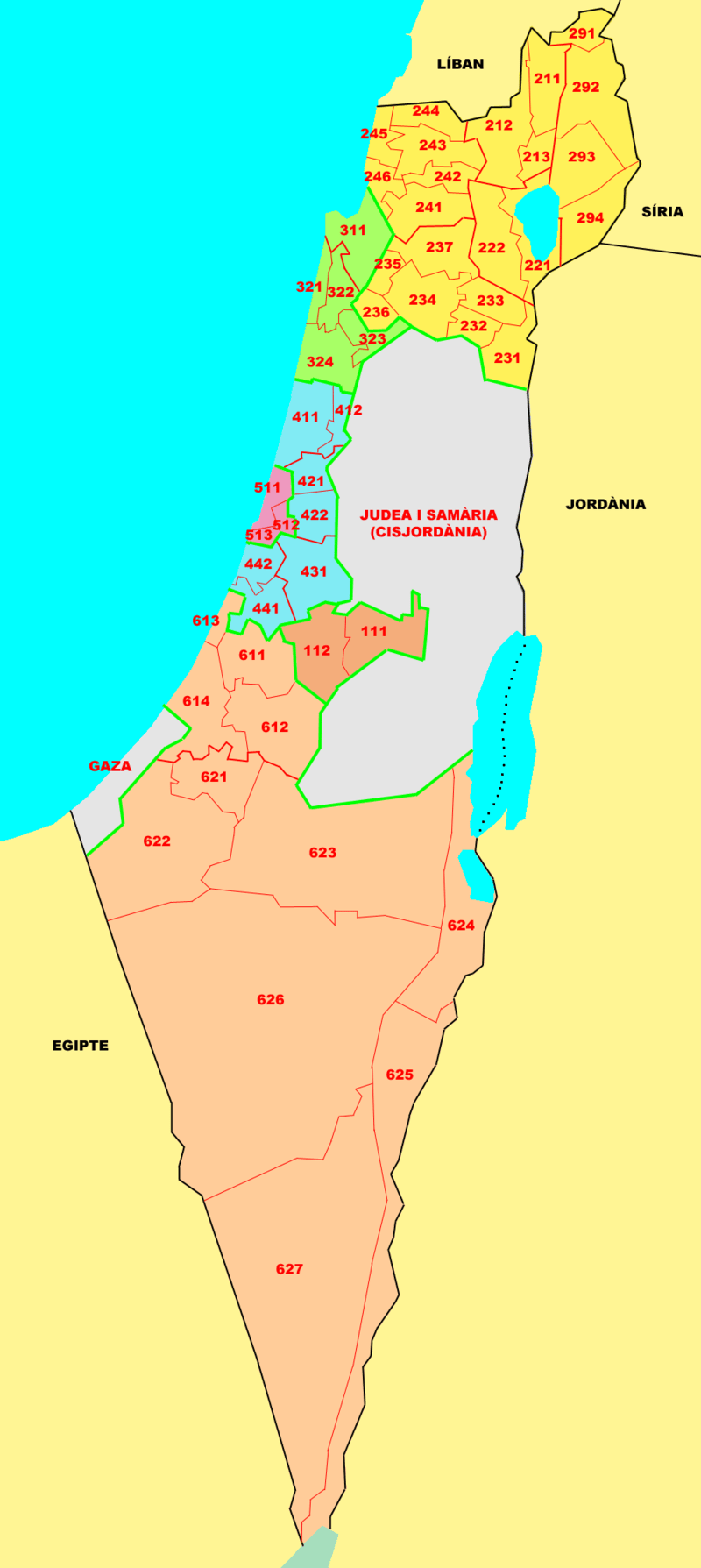 Geograpgy Natural-regions-israel