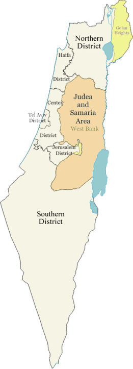 Israel_districts