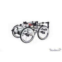 Детская коляска Reindeer Retro 3 в 1 (кремовый)