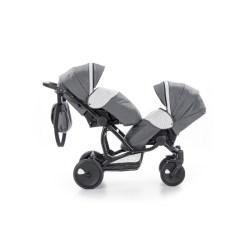 Детская коляска для двойни Tutis Terra 2 в 1 (Серый)