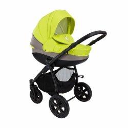 Детская коляска Tutis Tapu-Tapu 3 в 1 (серый/зеленый)