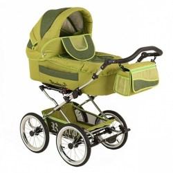 Детская коляска Reindeer Retro 3 в 1 (зеленый)
