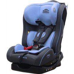 Детское автокресло Rant Fine Line Fiesta (Чёрный/голубой)