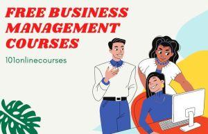FREE Business Management Courses