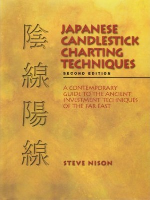 Japanese candle stick technique e book cover image