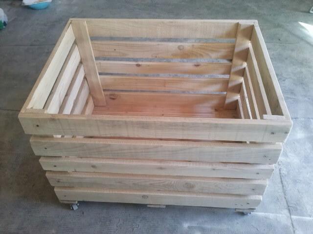 DIY Wooden Pallet Storage Box | 101 Pallets