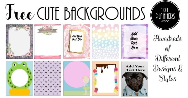 cute backgrounds