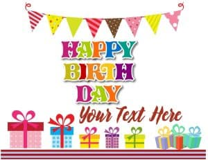 Free happy birthday border clipart
