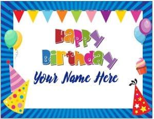 Happy birthday border