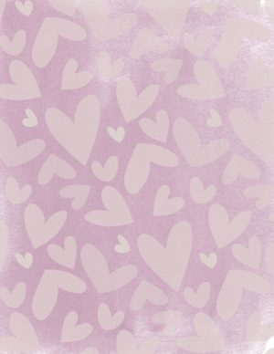 Pretty heart background