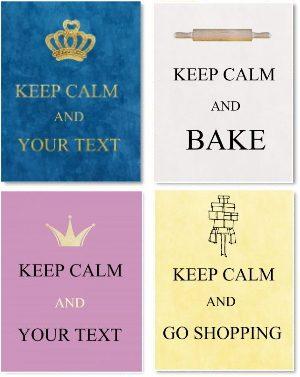 keep calm maker