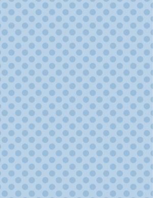 light blue polka dot background