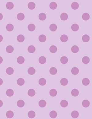 light pink polka dot background