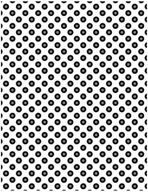 polka dot background black and white