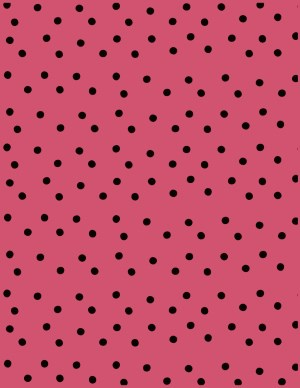 red and black polka dot background