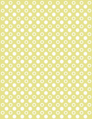 yellow and white polka dot background