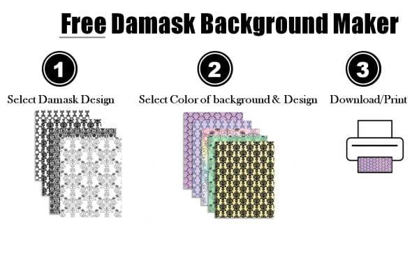 damask backgrounds