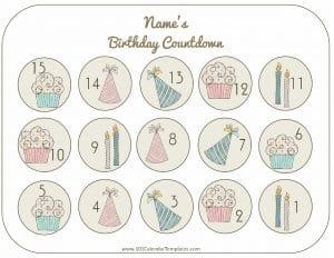 countdown till birthday
