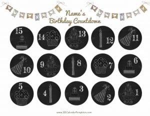 countdown birthday