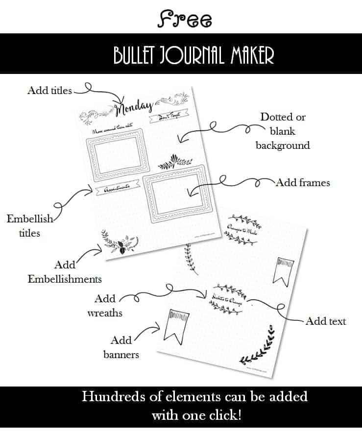 bullet journal maker